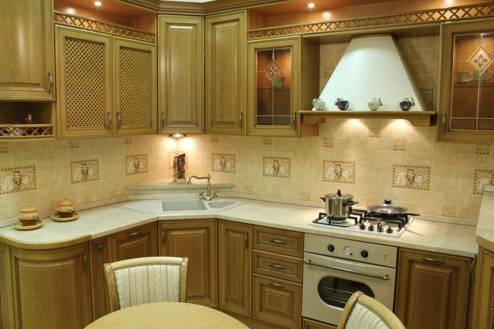 Дорогие и элитные кухни-Кухня из массива «Модель 127»-фото4