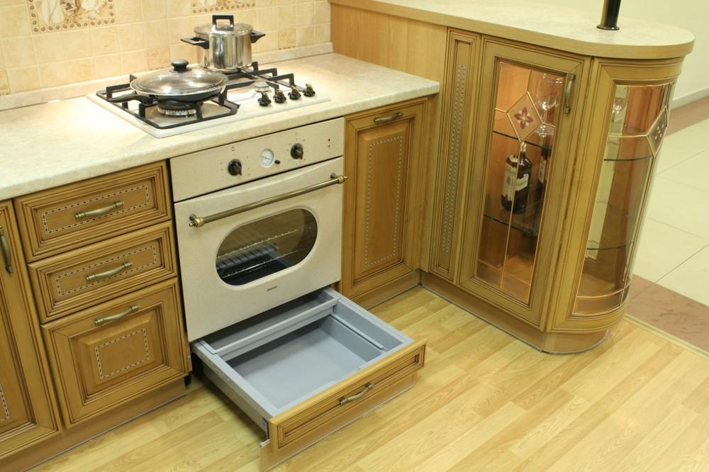 Дорогие и элитные кухни-Кухня из массива «Модель 127»-фото11