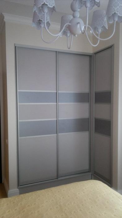 Большой шкаф-купе-Угловой шкаф-купе «Модель 226»-фото1