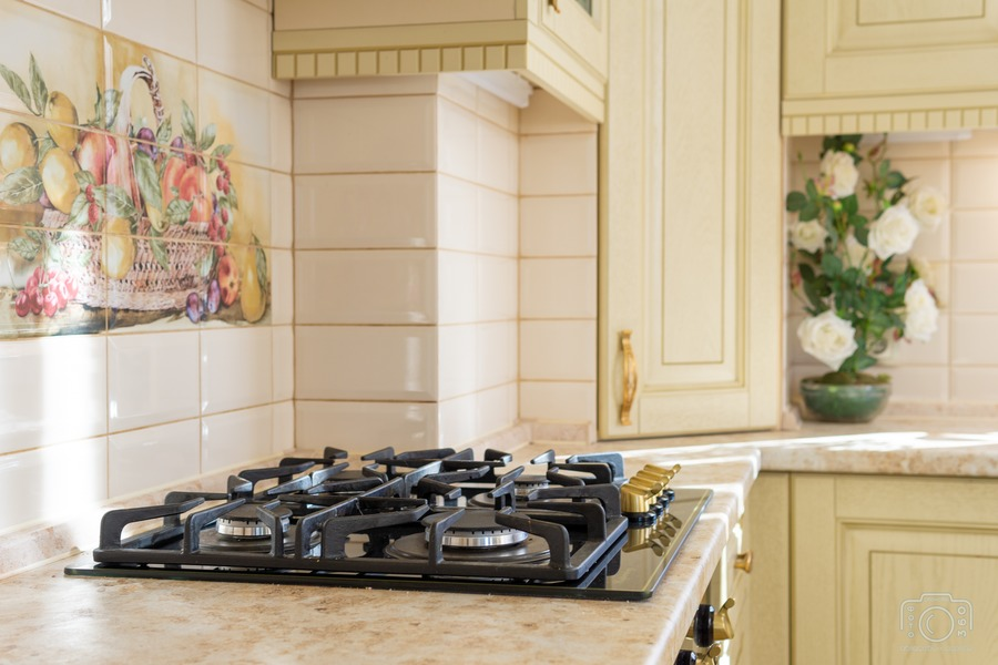 Бежевые кухни-Кухня из шпона «Модель 3»-фото10