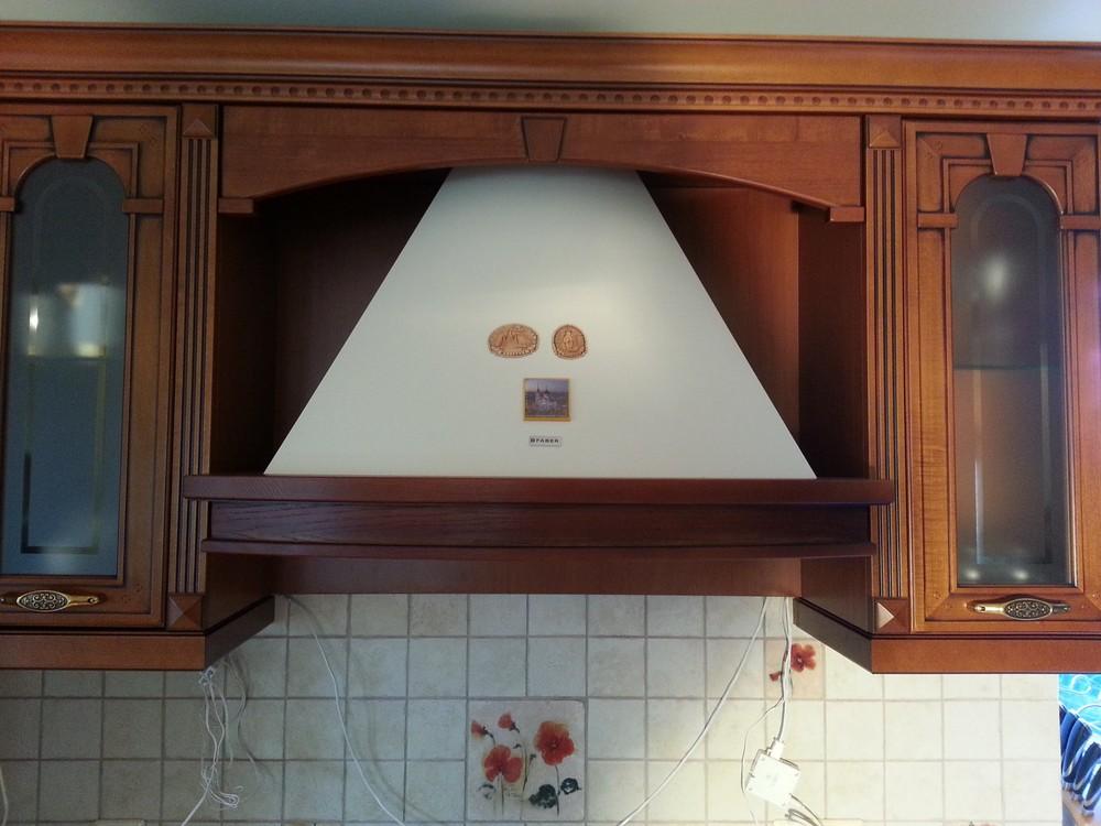 Встроенная кухня-Кухня из массива «Модель 211»-фото4