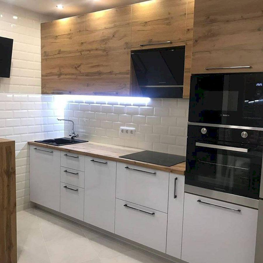 Белый кухонный гарнитур-Кухня из ЛДСП «Модель 638»-фото3