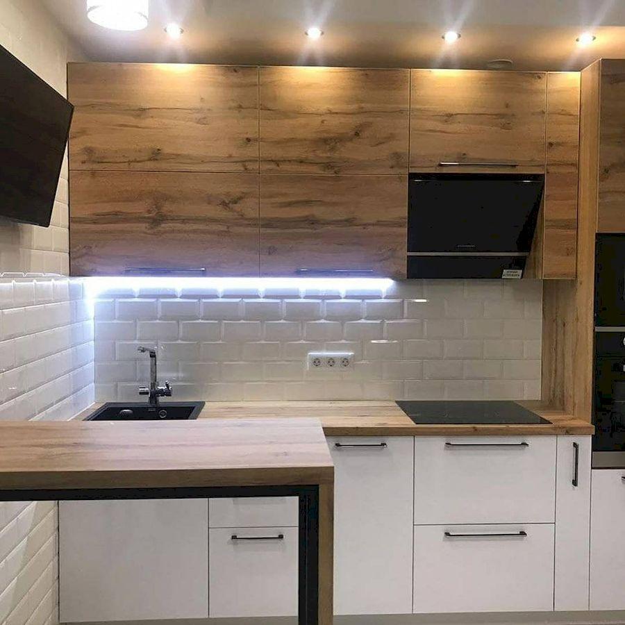 Белый кухонный гарнитур-Кухня из ЛДСП «Модель 638»-фото2