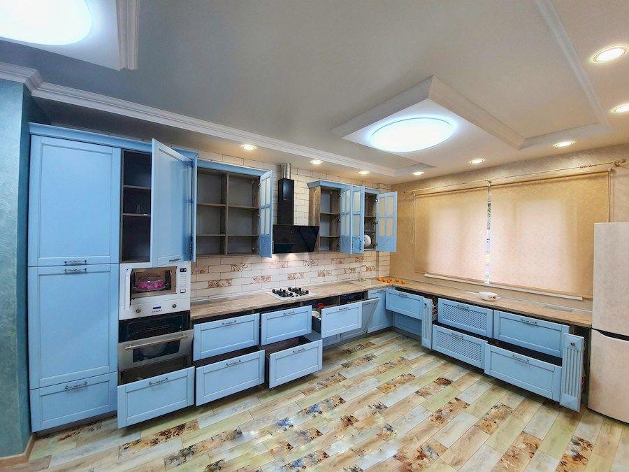 Классические кухни-Кухня МДФ в эмали «Модель 524»-фото7