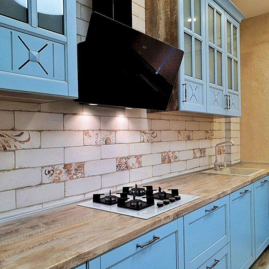 Классические кухни-Кухня МДФ в эмали «Модель 524»-фото5