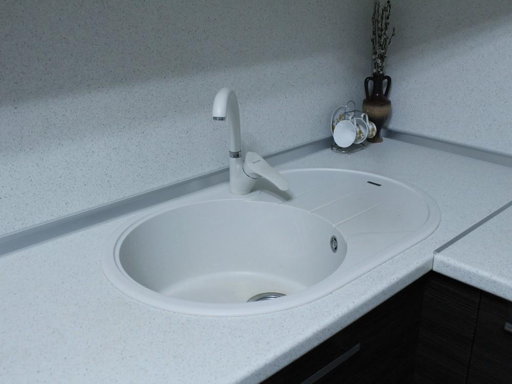 Встроенная кухня-Кухня из ЛДСП «Модель 186»-фото4
