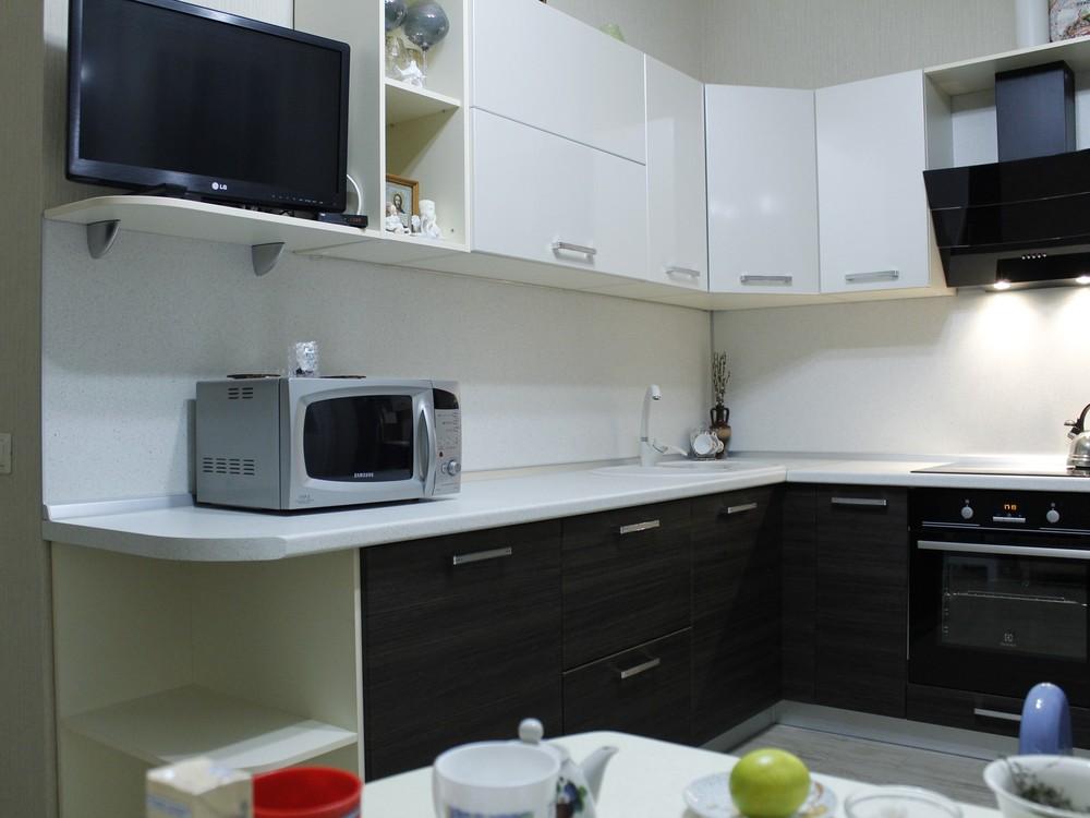 Встроенная кухня-Кухня из ЛДСП «Модель 186»-фото7