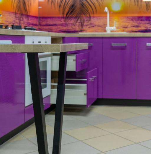 -Кухня МДФ в ПВХ «Модель 45»-фото11