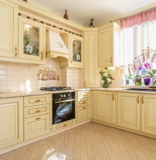 -Кухня из шпона «Модель 3»-фото3
