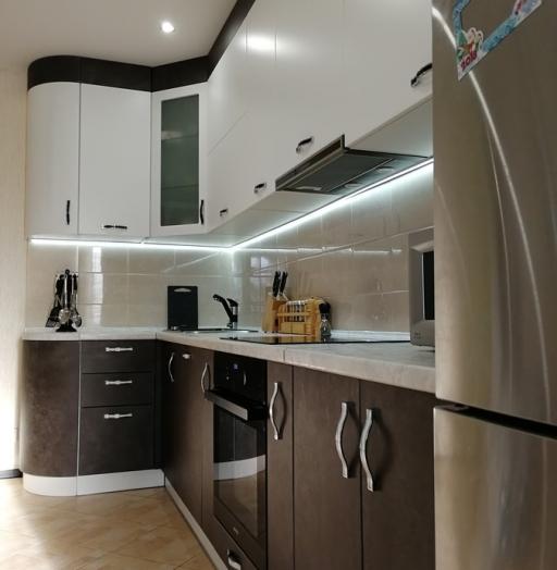 -Кухня МДФ в ПВХ «Модель 27»-фото24