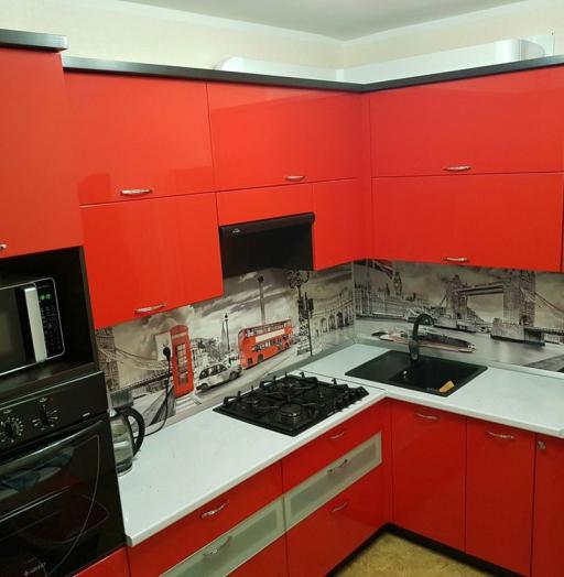 -Кухня из пластика «Модель 138»-фото2