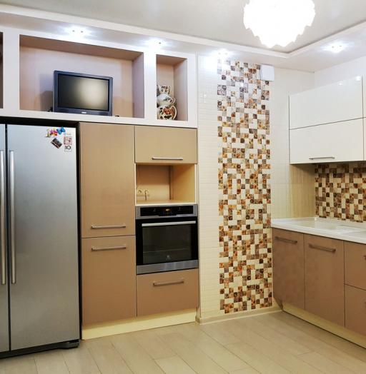 -Кухня из акрила «Модель 298»-фото27