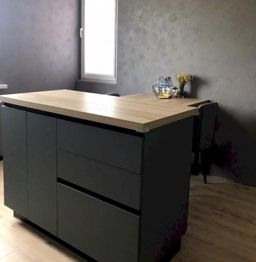 -Кухня МДФ в ПВХ «Модель 596»-фото18